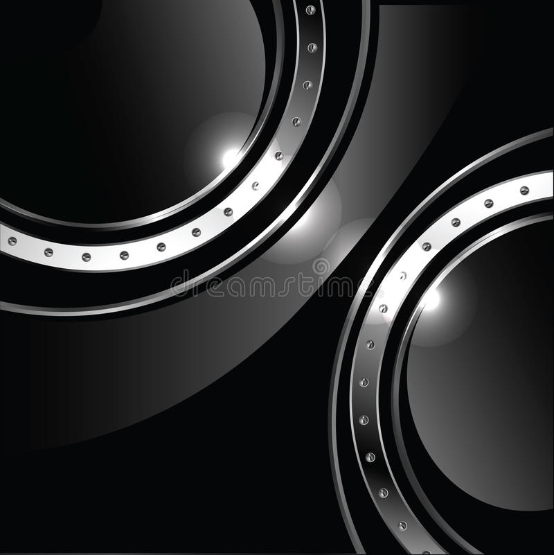 Download Abstract Background With Round Glossy Banner And M Stock Vector - Image: 21694327