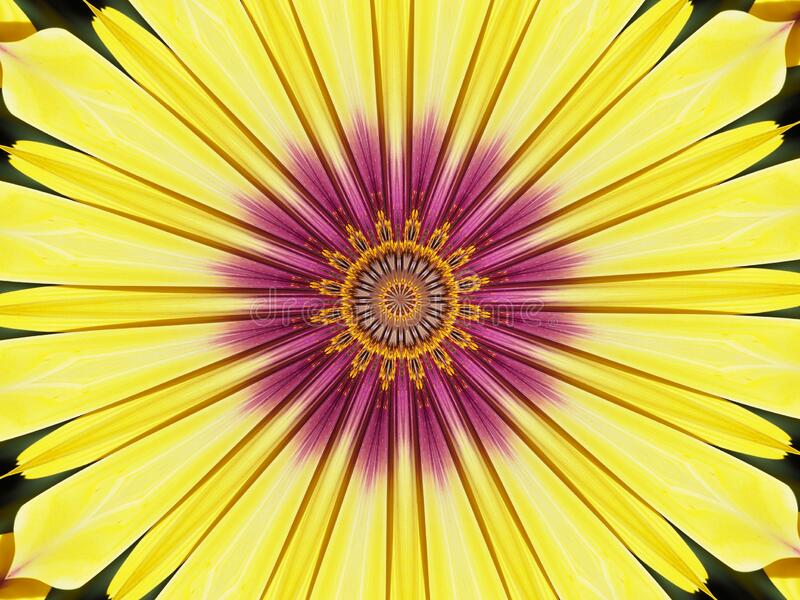 Abstract background with sacred geometry in color mandala royalty free stock images