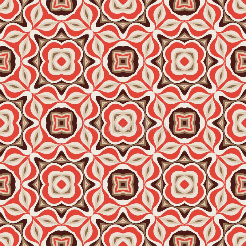 Abstract background seamless pattern. Carpet ethnic ornament. Vector illustration. Graphic design. stock illustration