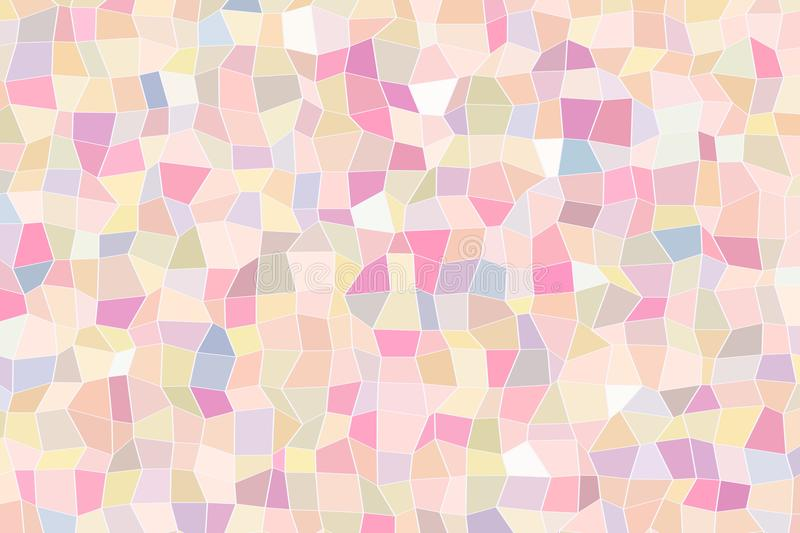 Abstract background with shape of triangle strip pattern. Vector, web, style & geometric. stock illustration
