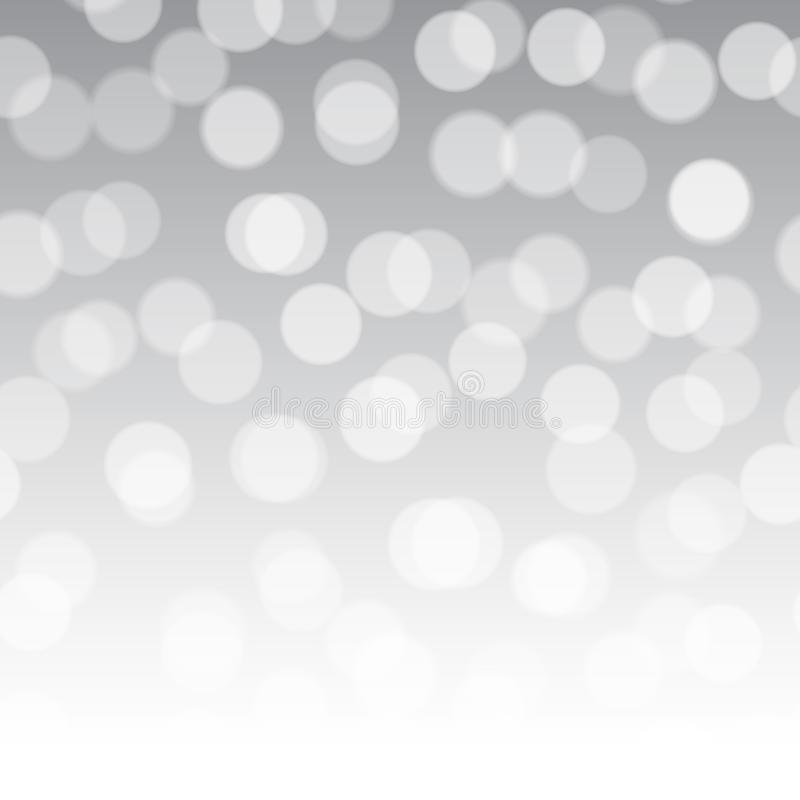 Abstract background with shiny bokeh lights, Vector. stock illustration