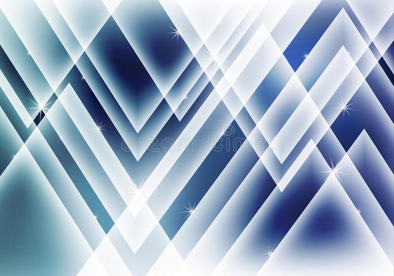 Abstract background with shiny lines royalty free illustration