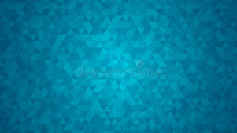 Abstract background of small triangles vector illustration