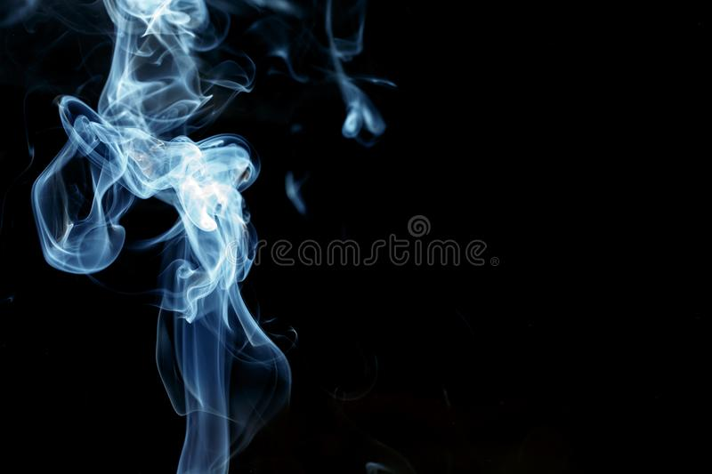 Abstract Background smoke detail art. Isolated stock photography