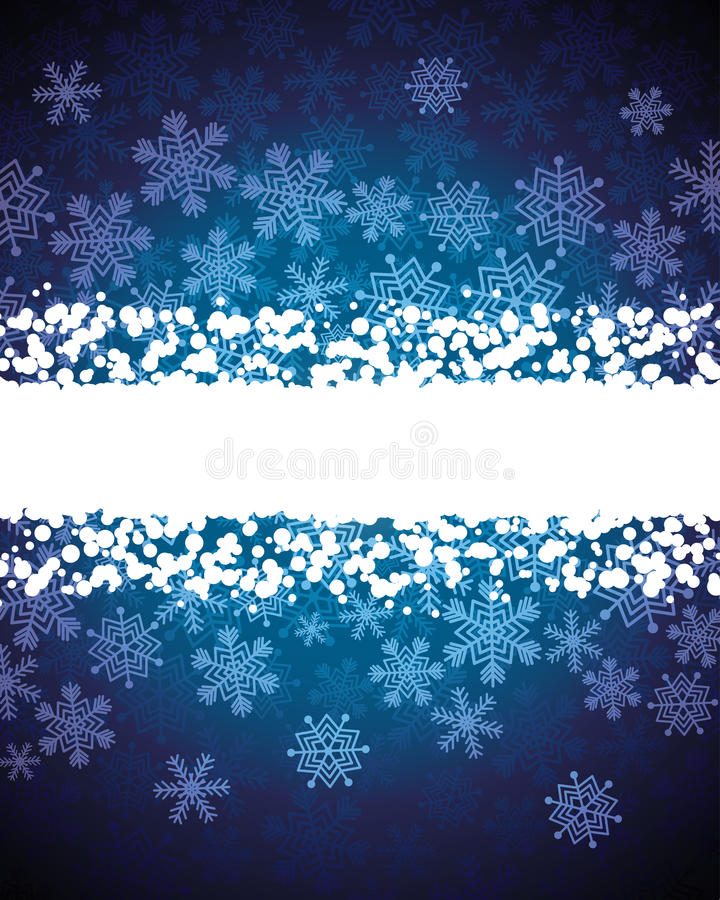Download Abstract Background With Snowflakes Stock Vector - Illustration of invitation, graphic: 12112626