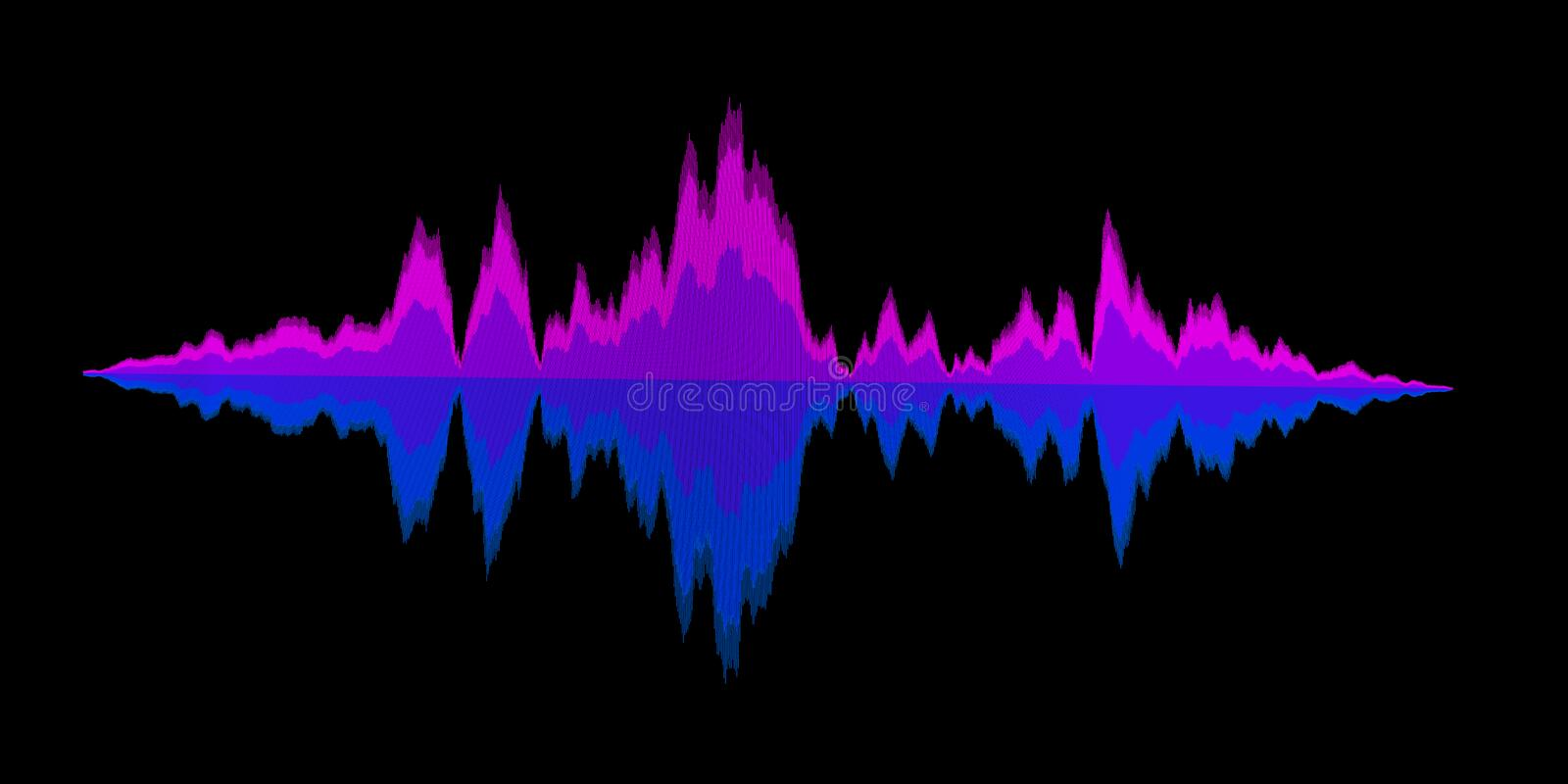 Abstract background sound waves for equalizer. Digital waveform. Abstract music background sound waves for equalizer. Digital waveform design. Vector vector illustration
