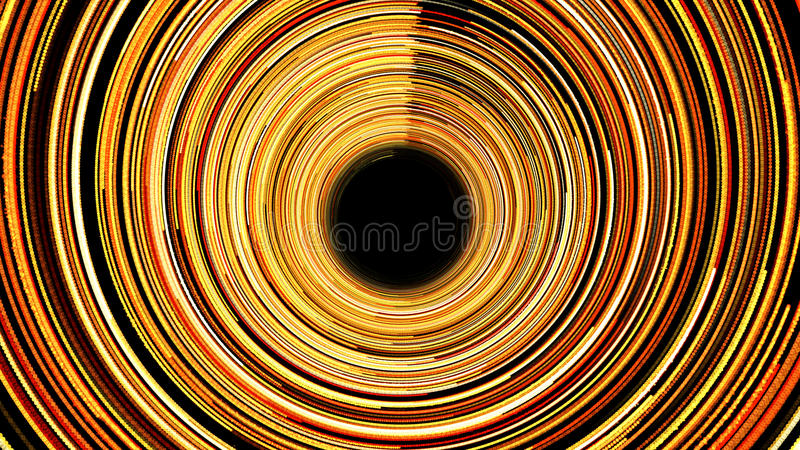 Abstract background with spiral tunel stock illustration