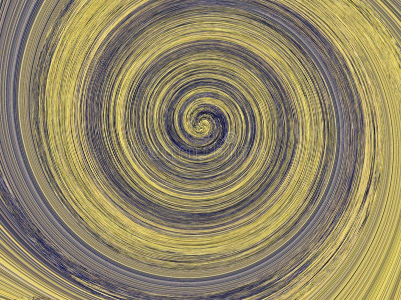 Abstract background with spiral vortex .Circle background.The texture of the furniture.Decorative fashion texture. stock illustration