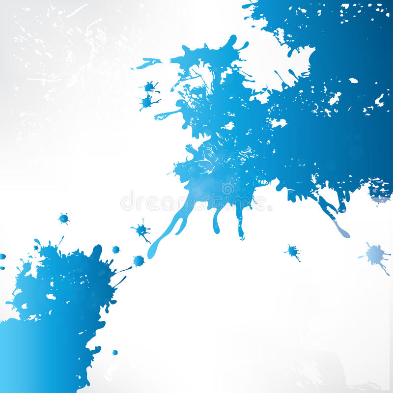 Abstract background with splash stock illustration