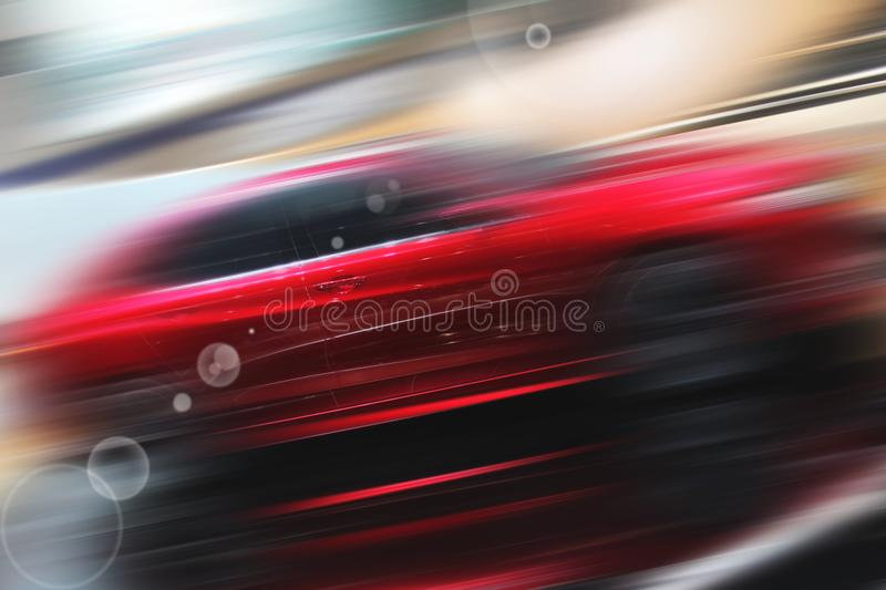 Abstract background of sport car royalty free stock image