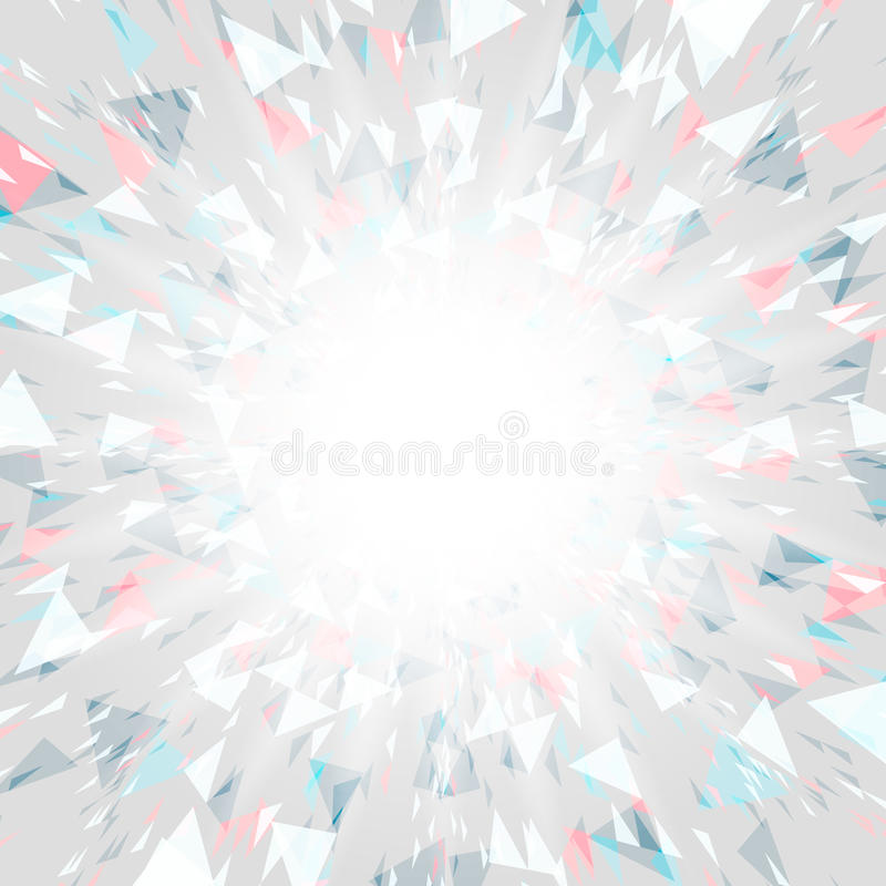 Abstract background of star burst - eps10 vector. Space for text stock illustration