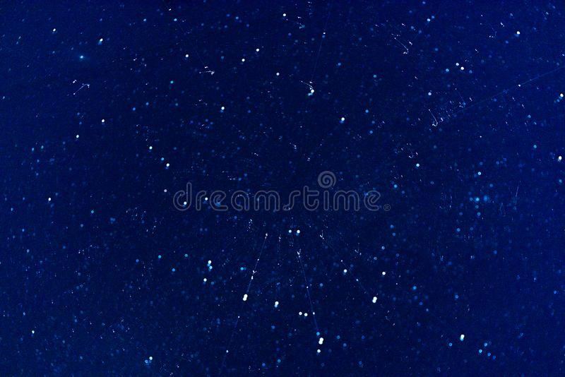 Abstract background with starry sky in motion royalty free stock image