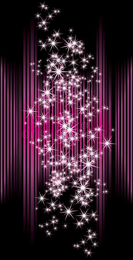 Download Abstract Background With Stars Stock Vector - Image: 27302135