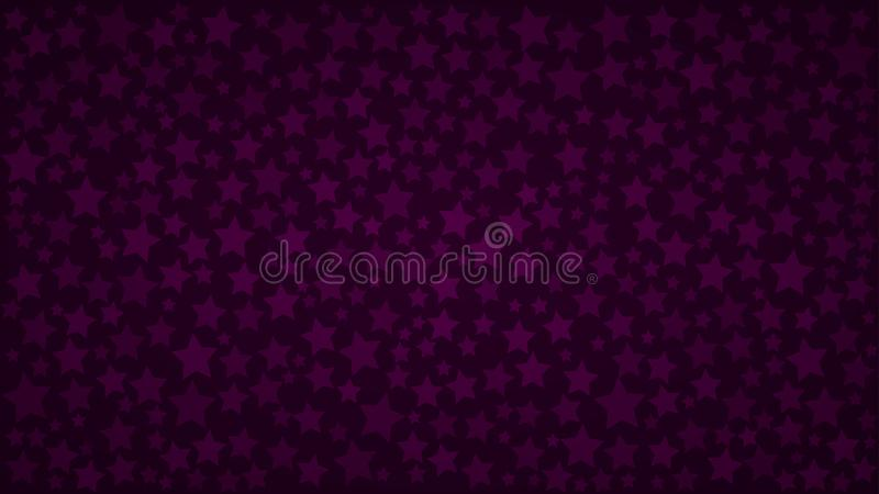 Abstract background of stars stock illustration