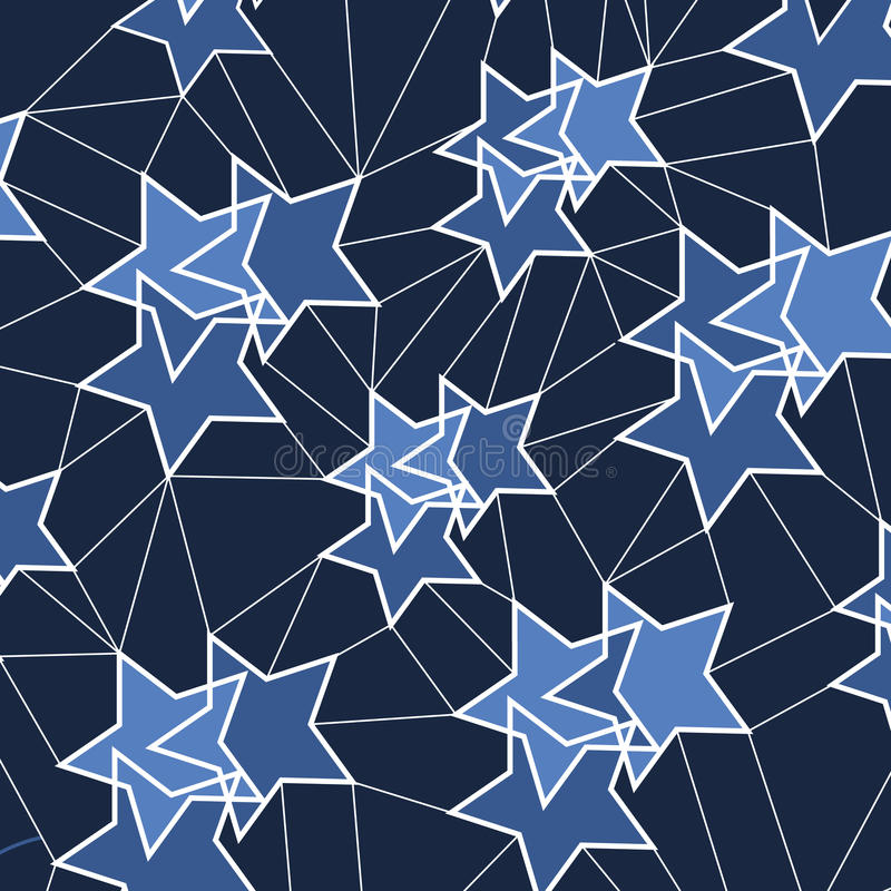 Abstract Background - Stars Stock Vector