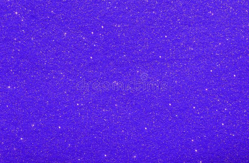 abstract background with stars and glitter glittering color BLUE stock photo