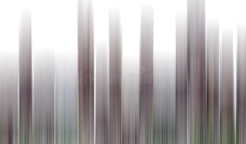 Background Blur vertical stripes, brown, white. stock illustration