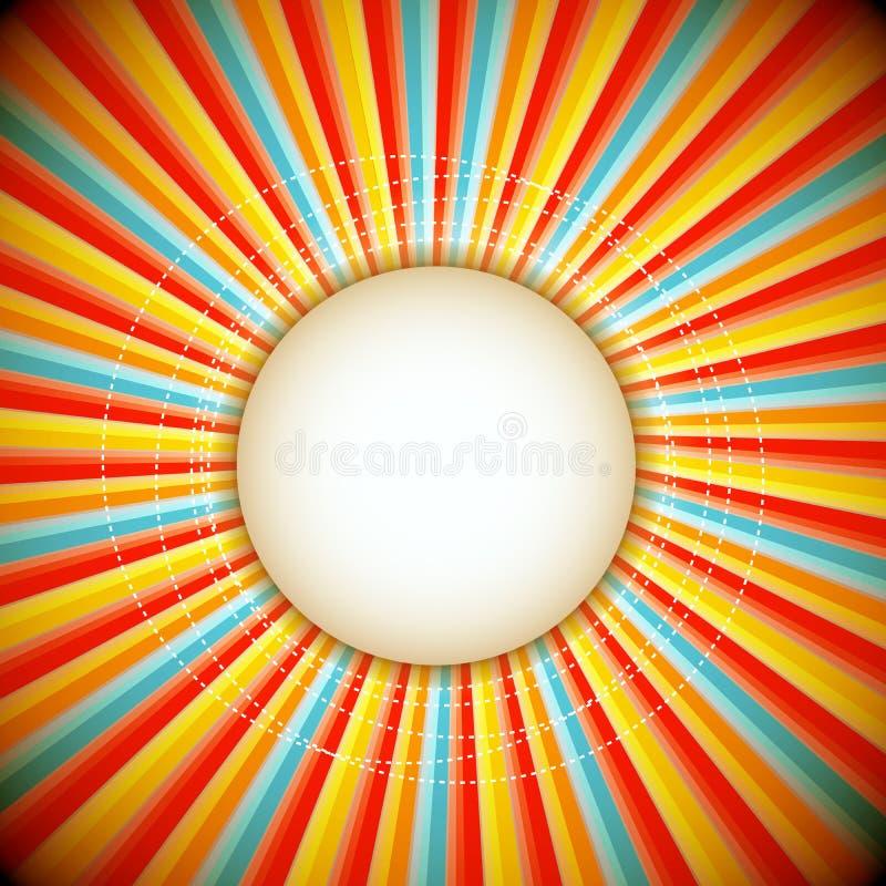 Abstract background of sunburst - raster version. Fully EPS 10 Vector Format vector illustration