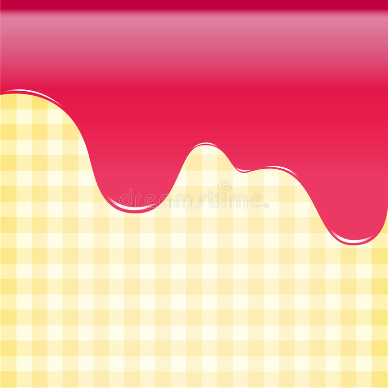Abstract background sweet strawberry pink, cake background vecto. R illustration stock illustration