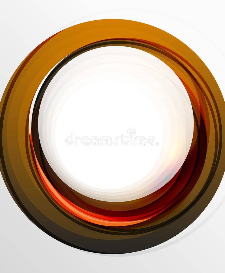 Abstract background, swirl wave line template. Vector layout template for your message or presentation wallpaper vector illustration