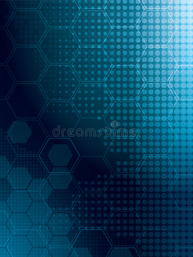Abstract background tech vector illustration