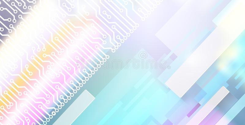 Abstract background technology theme with rectangles forms royalty free stock photography