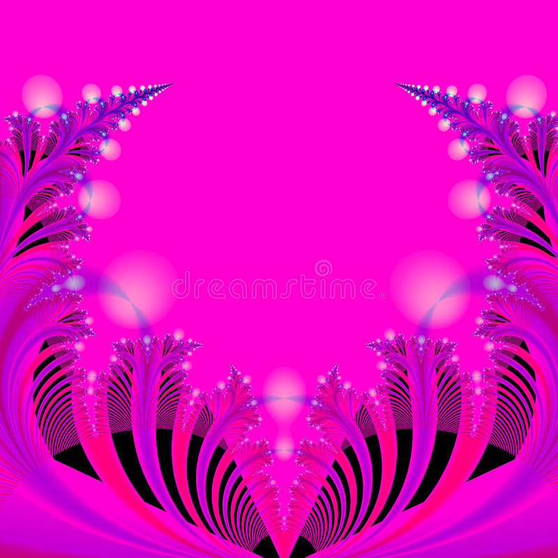 Abstract Background Template in Hot pink, Blue, Black and Red stock photo