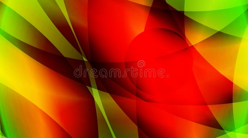 red green yellow Abstract background template stock illustration