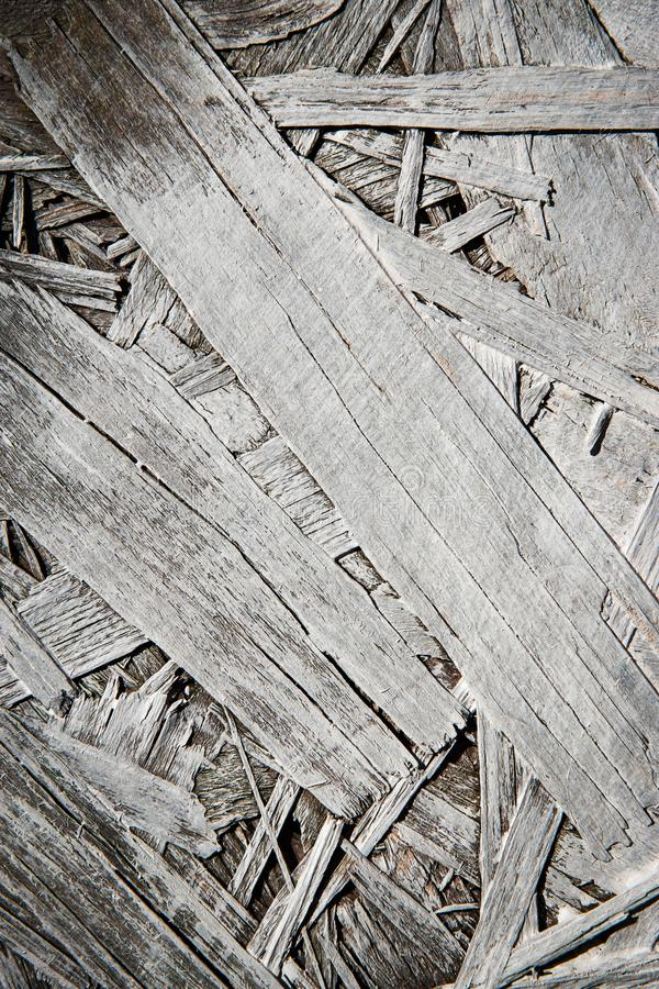 Detail white painted chipboard. Abstract background or texture detail white painted chipboard royalty free stock photos