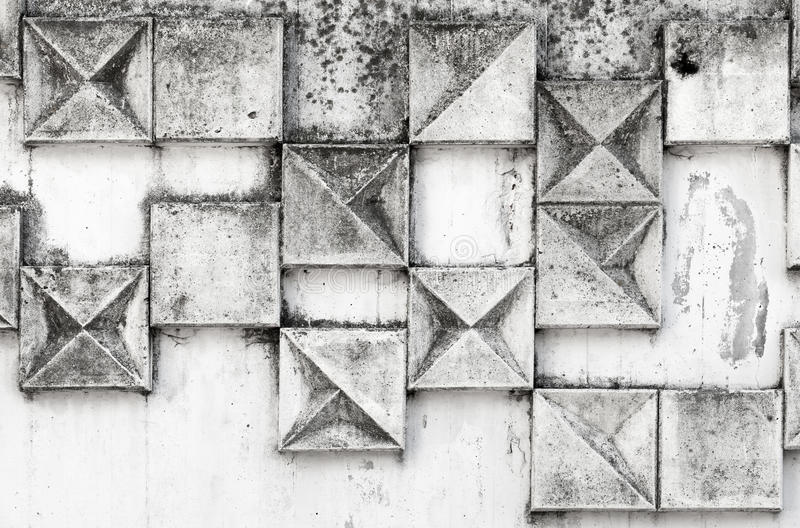 Abstract background texture with square pattern. On white industrial urban wall stock photo
