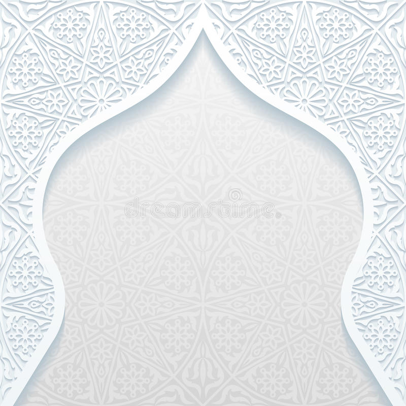 Abstract background with traditional ornament. Vector illustration royalty free illustration