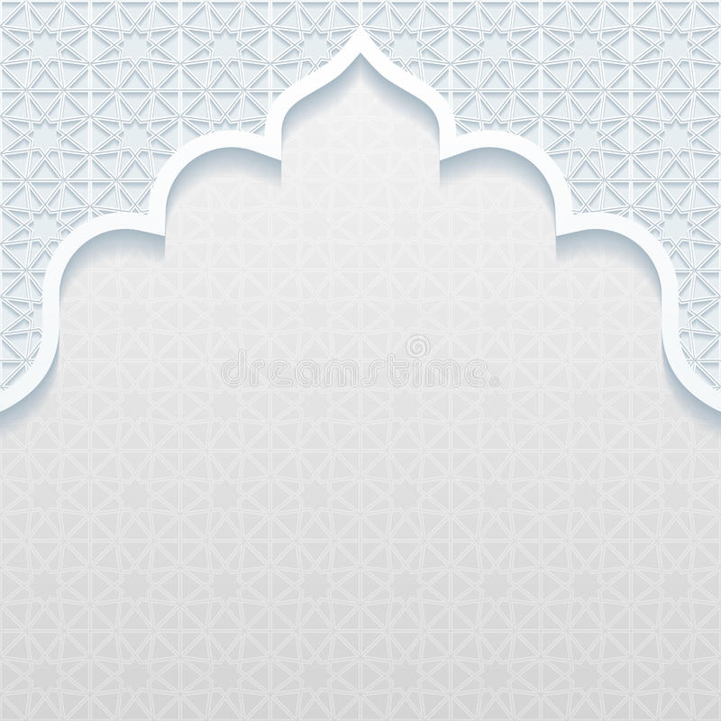 Abstract background with traditional ornament royalty free illustration