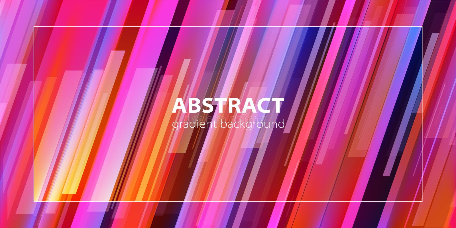 Abstract background. Trendy gradient line composition. Vector. royalty free illustration