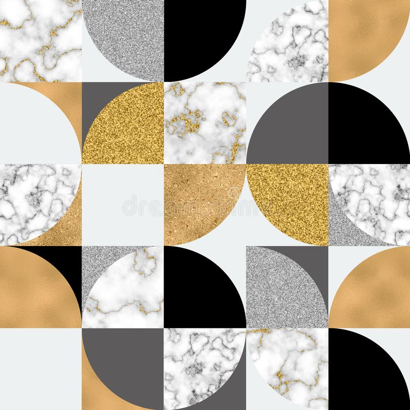 Abstract background. for trendy metallic effect surface design royalty free illustration