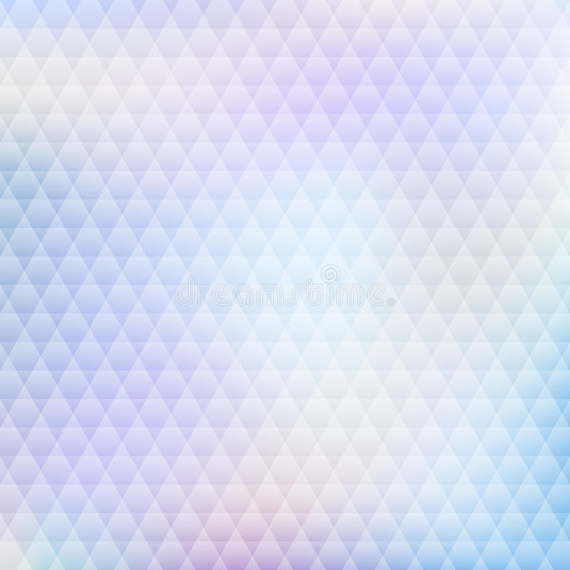 Abstract background with triangle pattern for your design stock illustration