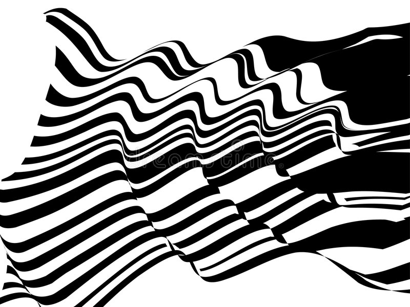 Abstract background, vector. Stylized waves, place for text vector illustration