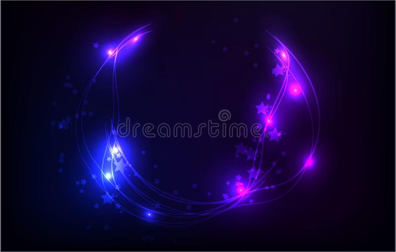 Abstract Background, vector illustration pink blue web royalty free illustration