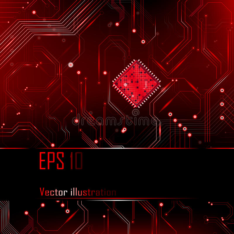 Download Abstract Background. Vector Illustration. Processor. Stock Illustration - Image: 32238510