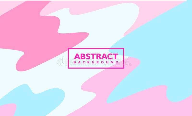 Abstract background vector template. with colorful liquid composition shape. vector illustration