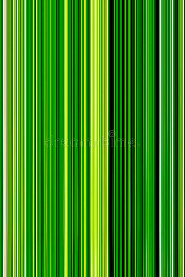 Abstract background of vertical green color with light green col stock illustration
