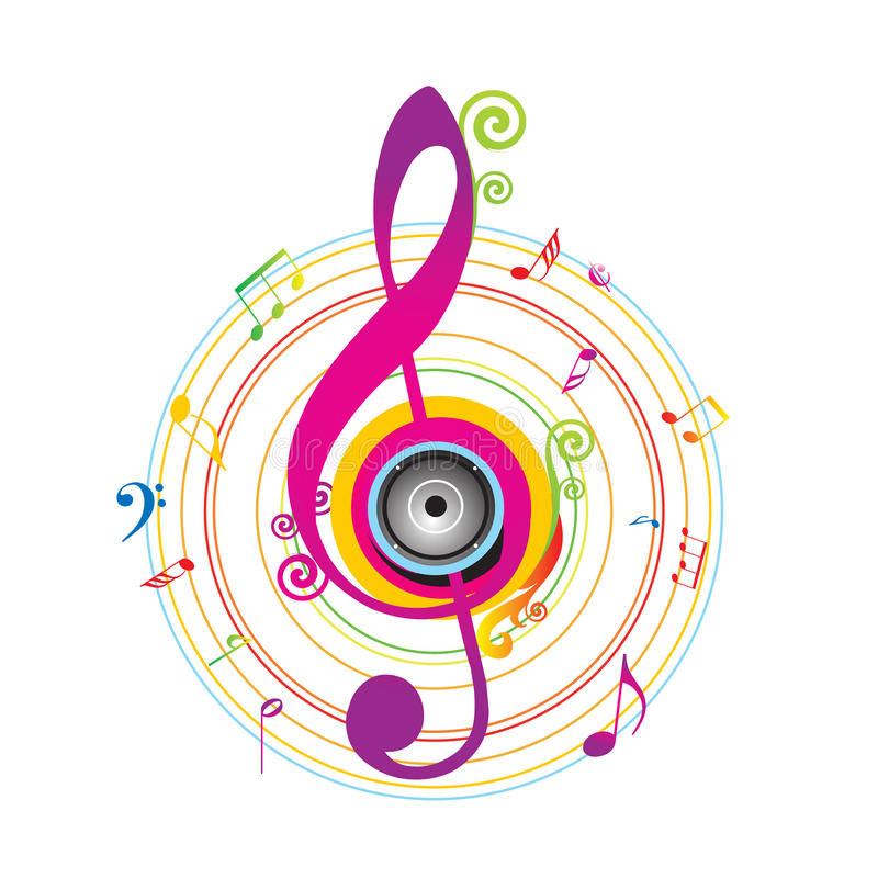Download Abstract Background With Violin Key Royalty Free Stock Photo - Image: 14509785