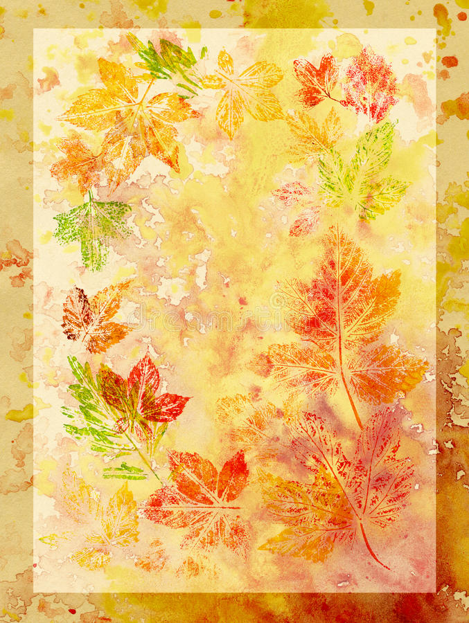 Download Abstract Background, Watercolor, Leafs Royalty Free Stock Photo - Image: 17539905