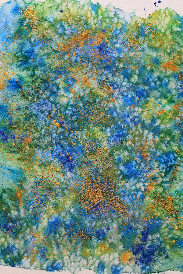 Download Abstract Background Watercolor And Mixed Media. Stock Photo - Illustration: 28886754