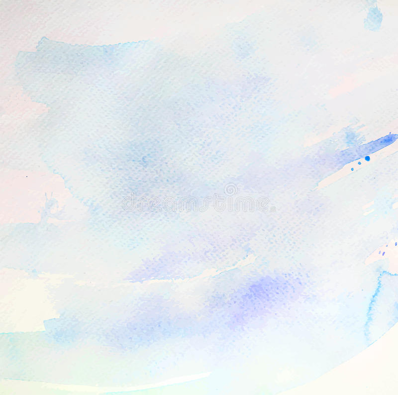 Abstract background watercolor texture paper blue sky pastel pretty royalty free stock photo