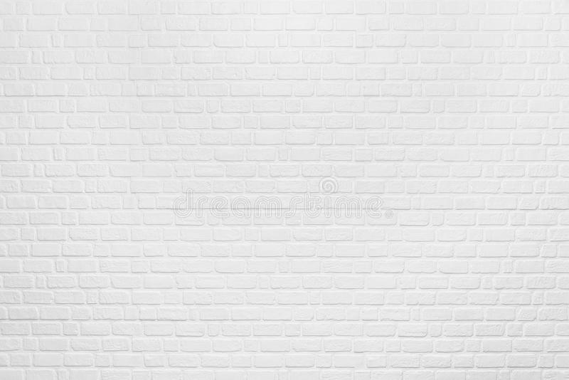 Abstract background from white clean brick pattern on wall. Vintage and retro backdrop. Picture for add text message. Backdrop royalty free stock images