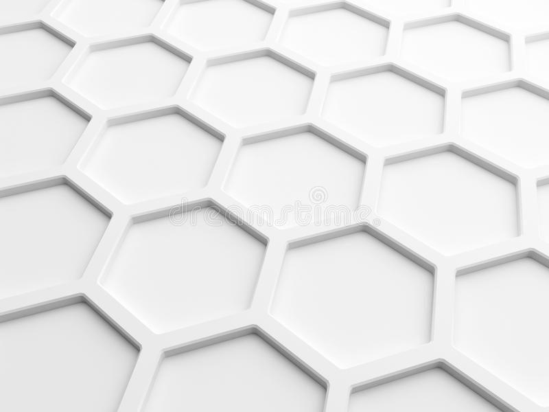 abstract honeycomb composition royalty - photo #2