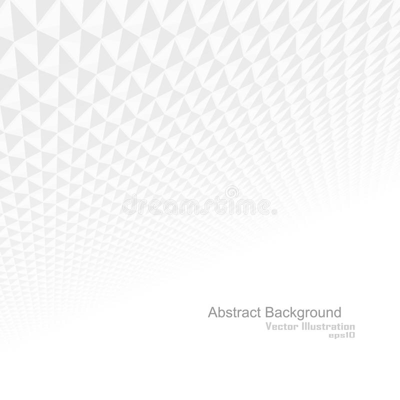 Abstract background, white texture. Abstract background with a perspective, white texture stock illustration
