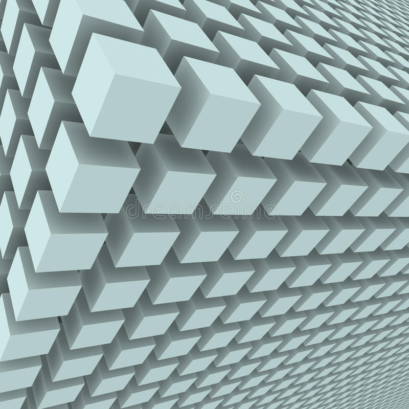 Free Abstract Background With 3d Cubes Royalty Free Stock Photography - 22621777