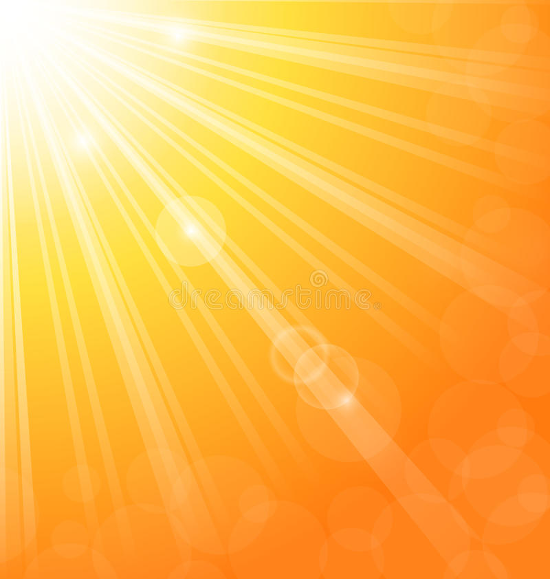 Free Abstract Background With Sun Light Rays Stock Photography - 27628172