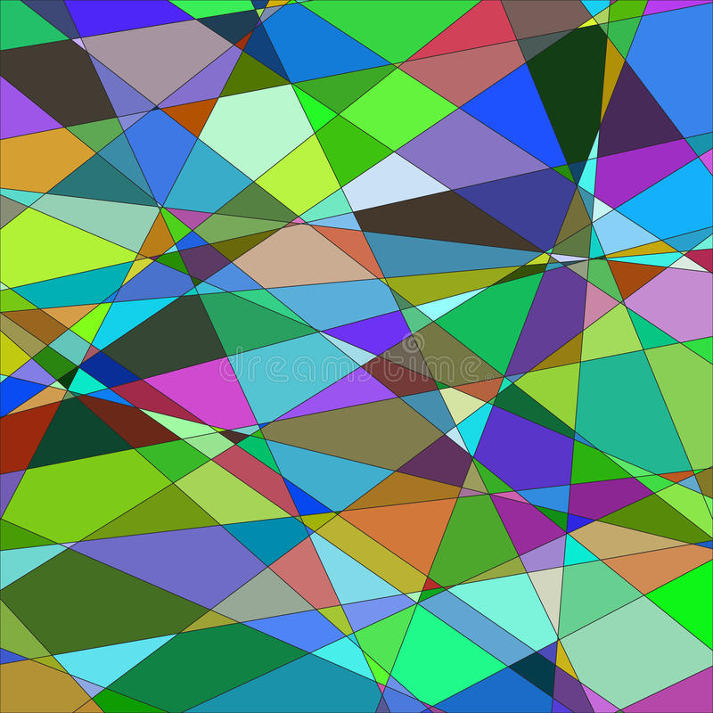 Free Abstract Background With Triangles. №2 Raster Royalty Free Stock Image - 45512236